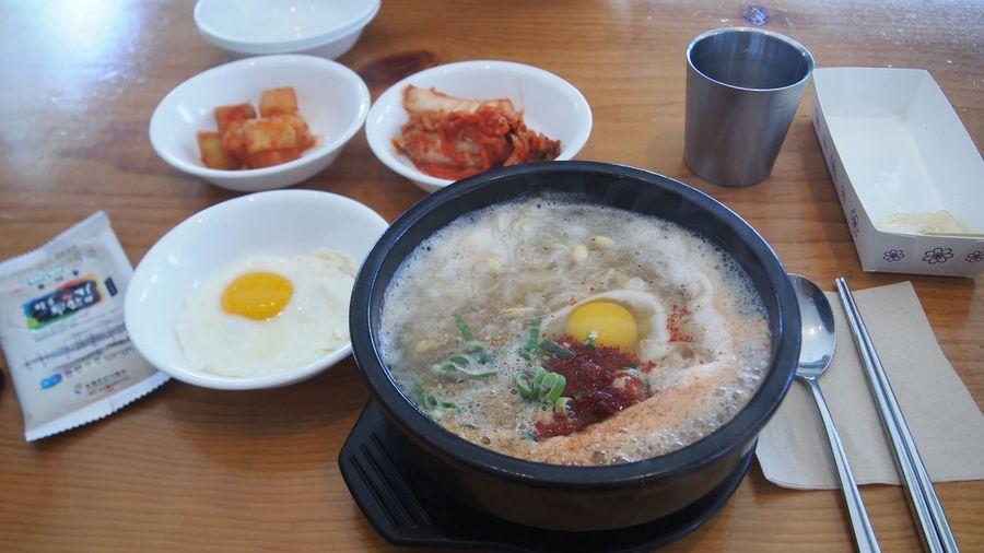Day Freshness Korea Korean Food Korean Soup Market No People Seoul Soup Street Food Traditional Food