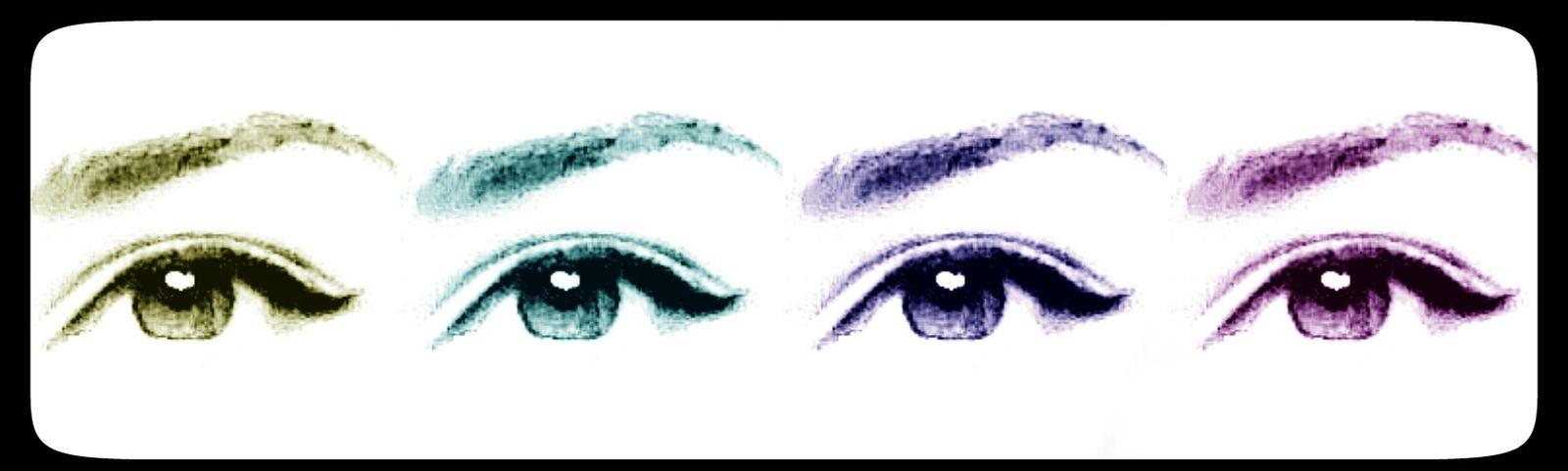 Beautifuleyes Making Collages  Bigbrowneyes