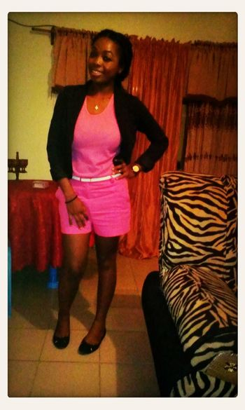 Dont i luk luvli in pink?? Hihihi That's Me First Eyeem Photo