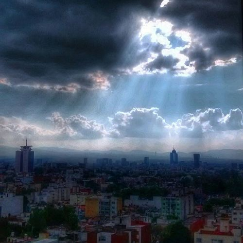 Mexico City PhonePhotography Darkness And Light Skyporn Sky Cityscapes Cloudporn