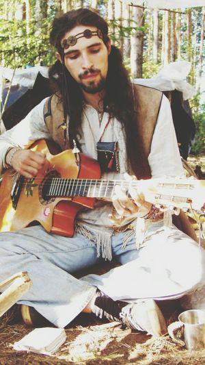 I Love Hippie Hippie Figli Dei Fiori Love Guitar Nature Happy Peace ✌