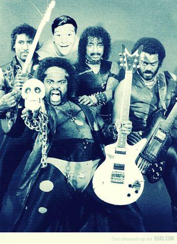The Adventures Of Big D*** Rick Black Metal