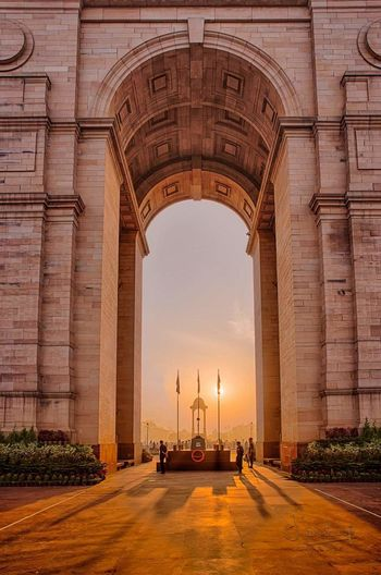 The brightest beauty of our strongest n brave Indian Martyrs... Built Structure Famous Place Tourism History Monument Tall - High Indian India Martyrs Indiagatedelhi Rituraj First Eyeem Photo