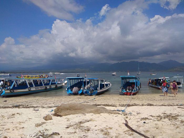 Boats in Gili