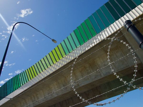 Highway overpass Low Angle View Tilt No People Sky Built Structure Architecture Day Outdoors Nature Highways&Freeways Highway Photography Highway Overpass Highways And Byways