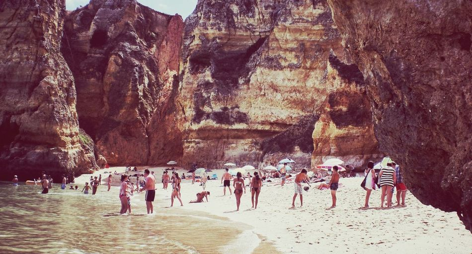 Nobody Knows The Hidden  Beach ? Pantone Colors By GIZMON