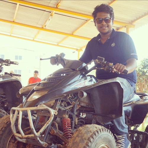 Four-wheel-Fun! Quadbike Fourwheels Fourwheelfun Racelove race racingisinmydna love speed speedlove bengalurudiaries bengaluru bangalore bengaluruquadbike dirtrace wheels pose poser shades instalike instaedit instamood instaupload instalove tagsforlikes LikeForlike FollowForFollow PhotoOfTheDay