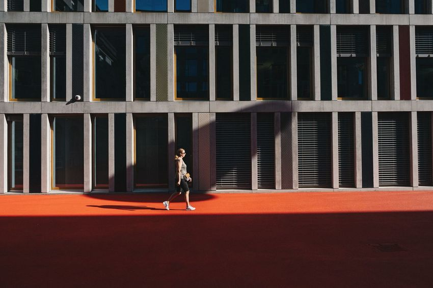 Streetphotography Yoonjeongvin Fujixh1 Stgallen InLOVEwithSwitzerland Swiss Athlete Sport Sports Clothing Full Length Competition Running Track Exercising Track And Field Event Women Architecture