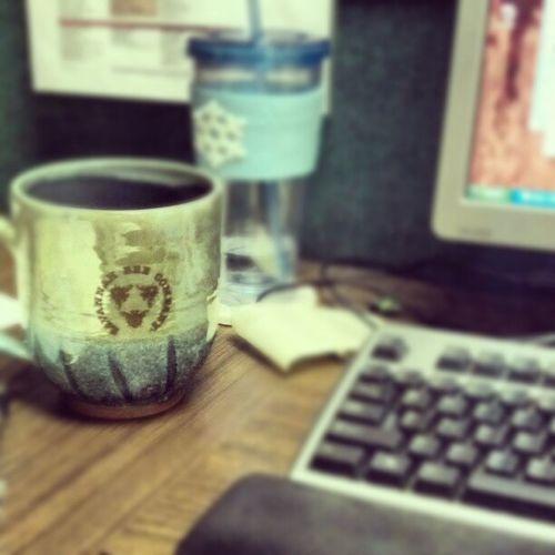 Enjoying my Coffee in my giant Savannah Bee Company mug this morning Savannah Savannahbeeco Beach