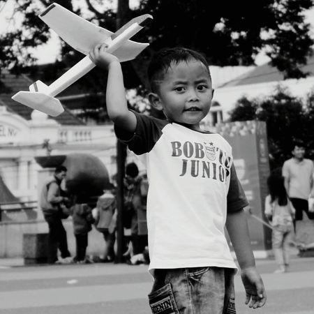 Bobotoh Junior Childhood Person BoysOutdoors Outdoor Play Equipment Enjoyment Day Playing First Eyeem Photo