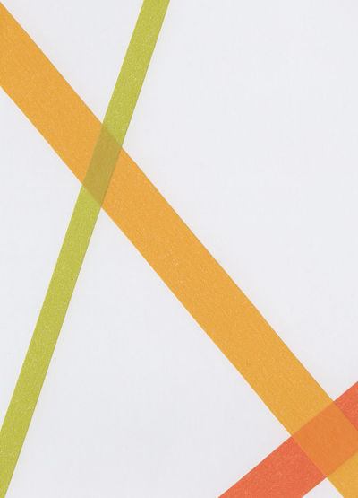 High angle view of multi colored pencils on white background
