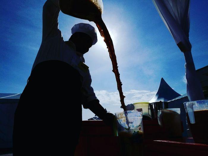 Eyeemphoto Teh Tarik Malaysia Style Tech Tarik Hand Pulled Tea
