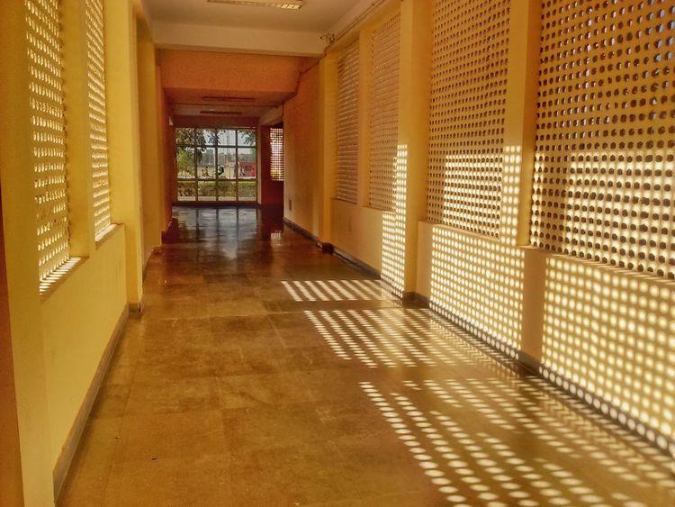 Corridor Spacious Airy Ventilate BuildingDesign BIG