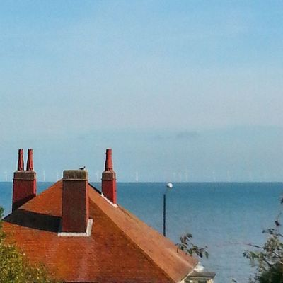 Last day in kent. Ow and look closely some windmills.