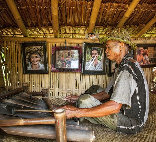Senior Men Senior Adult Travel Destinations Bali Bali, Indonesia Tegalalang ASIA Asian  Asian Culture Rice Field Rice Terraces Agriculture Family Poor  Countryside Country Living Country Travel Travel Photography Portrait Portrait Photography Portraits One Senior Man Only