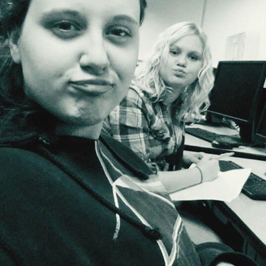 Class High School Friends Hanging Out Boredom Boring Class