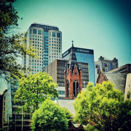 One of my favorite views of Birmingham.