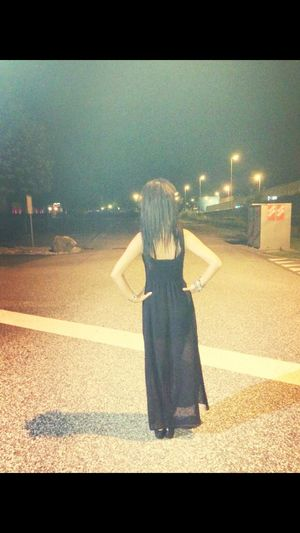 Long Dress Taking Photos That's Me 😚