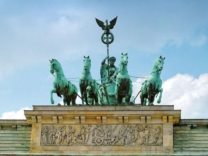 Berlin Brandenburger Tor Quadriga Brandenburgertor