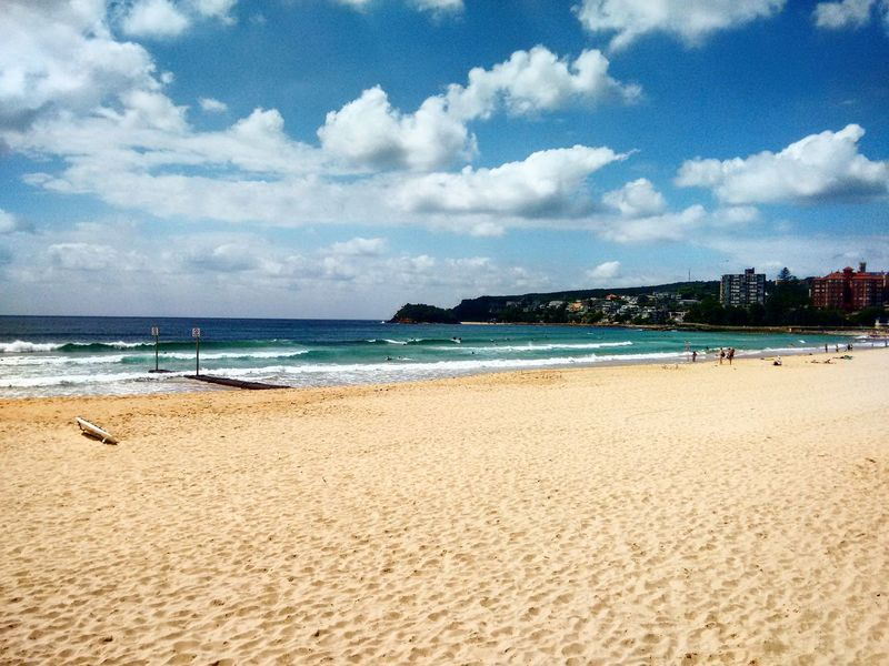 Enjoying the view at manly beach, sydney Hanging Out Relaxing Enjoying Life Beautiful Nature