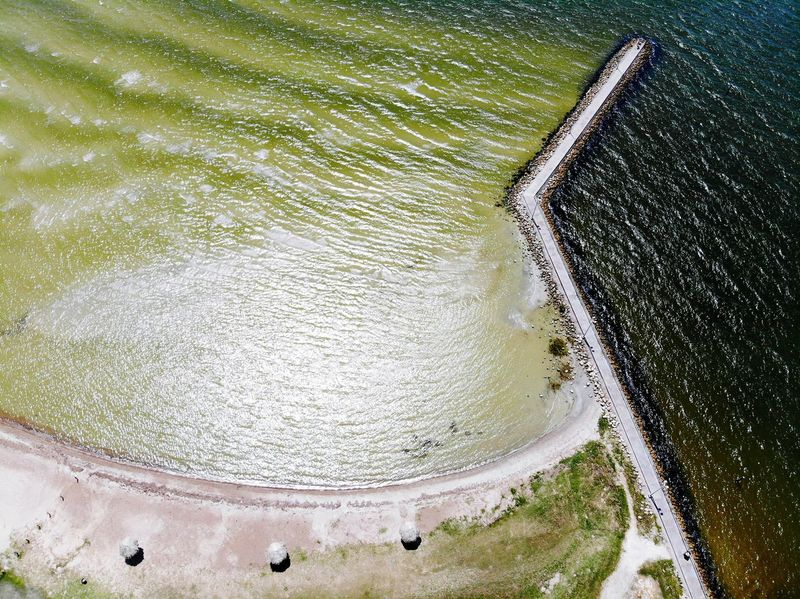 tourism destination Aeria Ways Of Seeing Tourism Destination Aeriel Photo Dronephotography Beach Photography Beach Ocean View Ocean Waves, Ocean, Nature Wave Coast Coastline Gulf Gulf Of Mexico Gulf Coast Water Backgrounds Tennis Pattern Full Frame Aerial View High Angle View Pebble Beach Tide Surfer Seascape Coastal Feature Horizon Over Water Low Tide Seashore