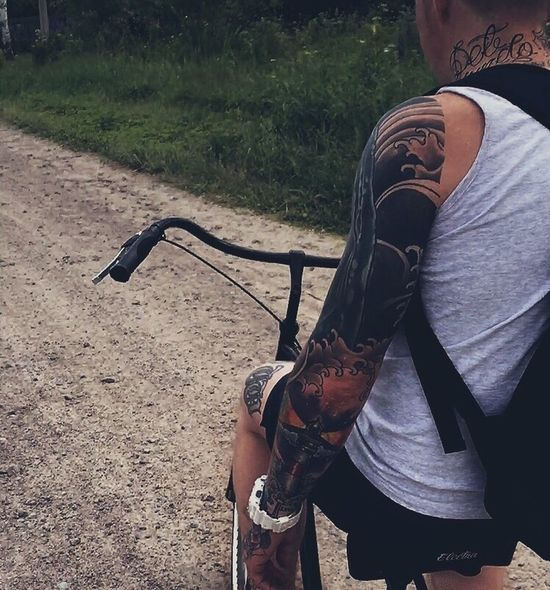 Quality Time Summer Ink Tattoos Bike