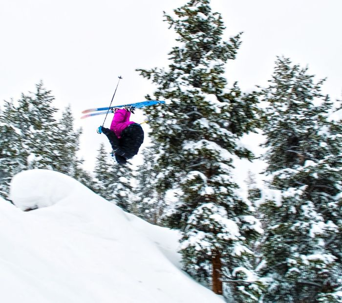 Flipping around Vail, CO Skiing Vail,co Colorado