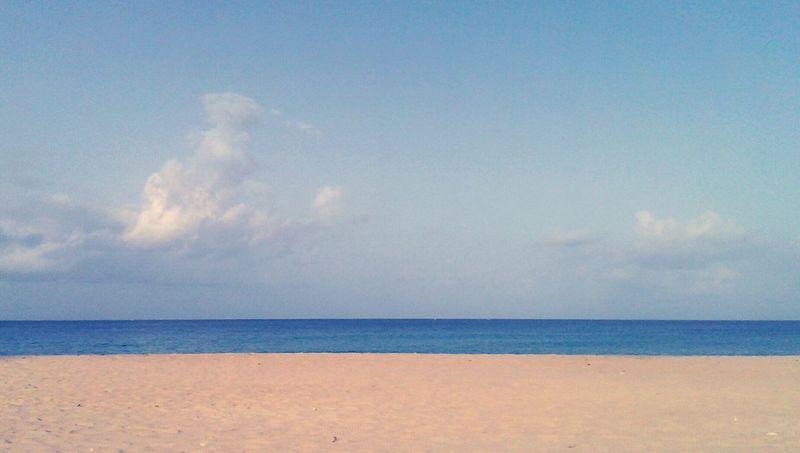 early morning walk Walking Beach Calm Peaceful Sand Water Sky Feeling Good Everythingisawesome Island Life