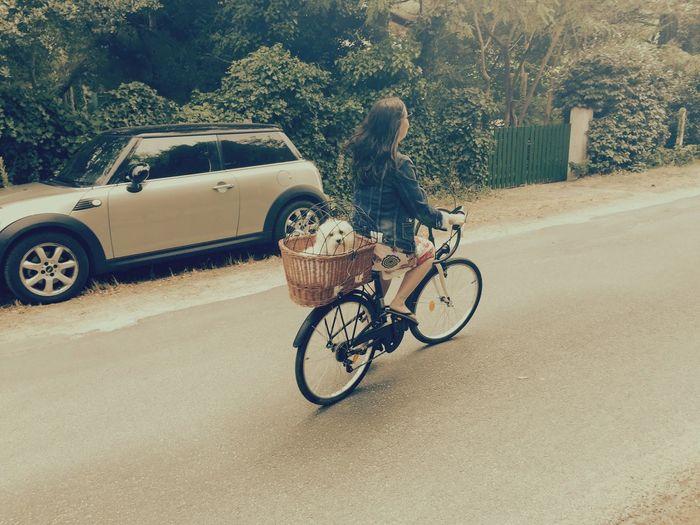 Bycicling Hello Sunshine Holidays ☀ Ile D'Oleron Ilovemydog Isis😍 Myprincess🐶🐶 Fun Times ^_^