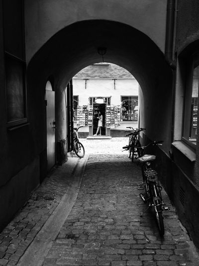 This is one of the alleys in the Old Town, Stockholm. Streetphoto_bw MADE IN SWEDEN Street Photography The Street Photographer - 2015 EyeEm Awards