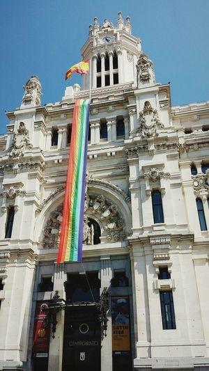 Arcoiris Rainbow Celebratepride Madrid Ayuntamientodemadrid