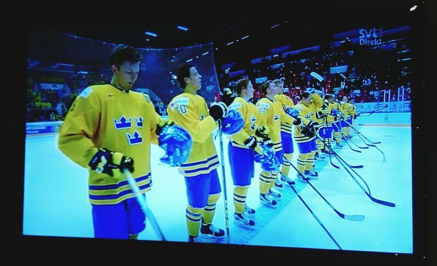 Sweden won!! Sohappy Icehockey Jvm SwedenvsUSA 2015  LoveHockey