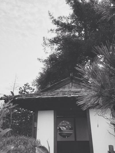 Check This Out Blackandwhite Built Structure House No People Day Low Angle View Outdoors
