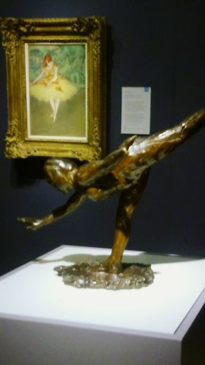 Degas No People Indoors  Gold Irwin Collection EyeEm Gallery One Woman Only Female Likeness Sculpture Lover Ballerina ballet sculpture Dancelife 1850s Collection EyeEm Best Shots