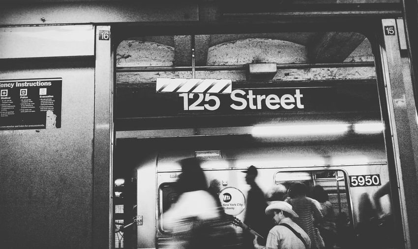 NYC New York New York City 125th St Harlem  Subway Subwayphotography Train NYC Subway
