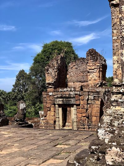 Architecture Angkorarcheologicalpark East Mebon Sky Plant Nature Tree Cloud - Sky No People Architecture Ancient