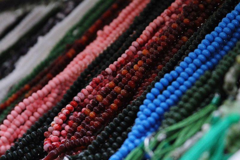 Prayer Beads Prayer Beads Bead Pink Blue Black Color
