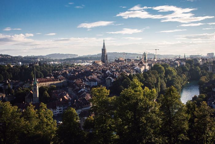 Bern 🇨🇭 Bern Schweiz Rosengarten View Stadt City Sky Cloud - Sky Landscape Architecture Cityscape Built Structure Building Exterior No People City Tree Travel Destinations Outdoors Day Mountain Nature (null) EyEmNewHere