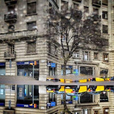 Barcelona cabs under water #splendiaHotels #ig_cityGuide splendiaHotels Ig_cityguide Splendiahotels
