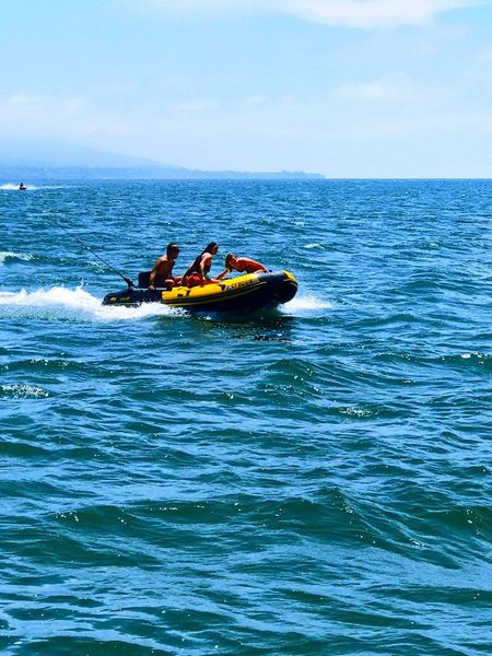 Inflatable Raft Inflatable Boat Rigid Hull Inflatable Boat Rigid Inflatable Boat Inflatable Rescue Boat Sea Water Real People Adventure Nature Nautical Vessel Transportation Leisure Activity Day Lifestyles Motion Outdoors Jet Boat Waterfront Inflatable Motor Boat Motorized Rubber Raft Breathing Space