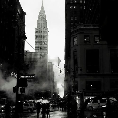 New York Street Protography First Eyeem Photo Chrysler Building Blackandwhite Photography Streetphoto_bw EyeEm Best Shots - Black + White The Street Photographer - 2015 EyeEm Awards Blackandwhite