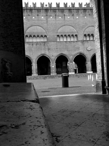 Architecture Built Structure History Building Exterior Arch Travel Destinations Day Outdoors No People Rimini Italy Blackandwhite Biancoenero Cavour