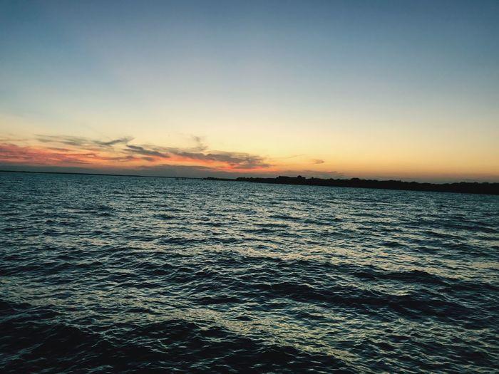 🌞 Sunset Sea