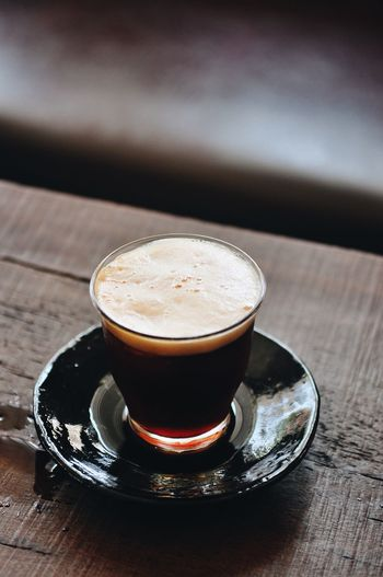 Drink Coffee - Drink Coffee Food And Drink Table Coffee Cup Mug Still Life Refreshment Saucer Cup Frothy Drink Crockery Freshness Indoors  Close-up Cappuccino No People High Angle View