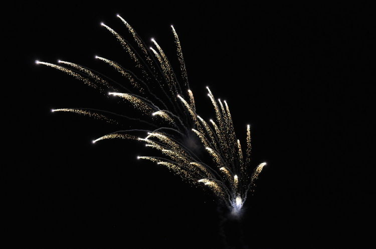 Fireworks Black Background Close-up Exploding Exploding Fireworks Firework Growth Illuminated Night No People Outdoors