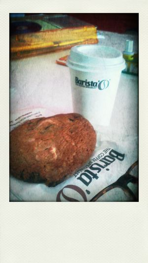 or's barista' time :-D Yummy Food