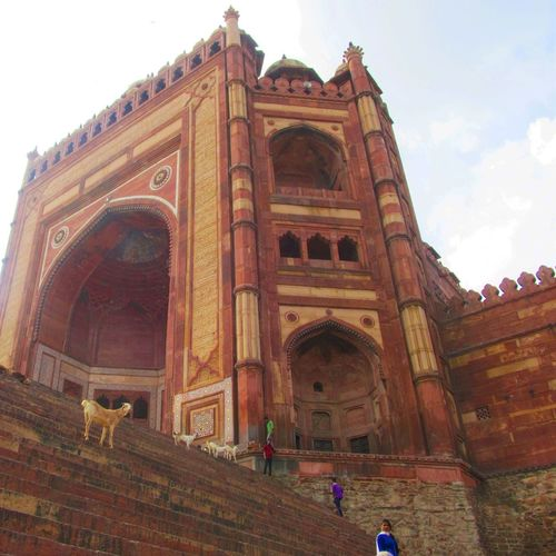 Buland darwaja, gate of magnificence, standing tall India Travel History Up UttarPradesh Agra Mughalarchitecture Fatehpursikri Fatehpur Sikri Bulanddarwaza