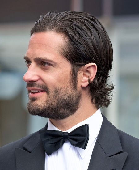 H.K.H. Prince Carl Philip of Sweden Beard Close-up H.K.H. Prince Carl Philip Handsome Headshot June 15, 2017 One Person Outdoors Polar Music Prize Portrait Smiling Stockholm, Sweden Well-dressed