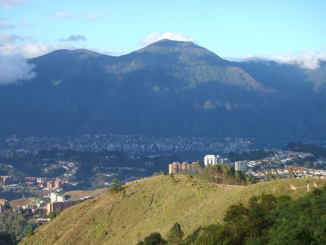 Beauty In Nature El Avila .Caracas Venezuela Landscape Mountain Nature Outdoors Residential District Tranquility