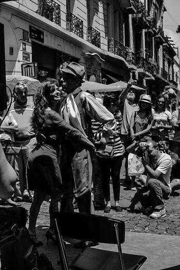 Tango on the streets Seduction Tango Streetdancing Tango Dancers Art